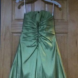 Tiffany Designs Dresses - Stunning olive green prom gown!